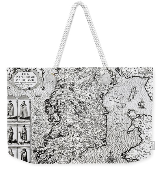 The Kingdom Of Ireland Weekender Tote Bag
