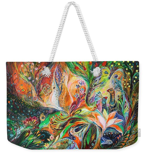 The Light And Wind Weekender Tote Bag