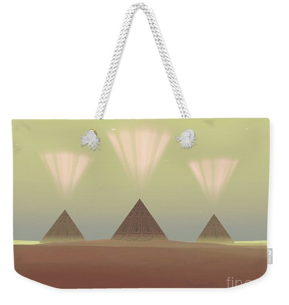 The Lights From Ancient Pyramids Join Weekender Tote Bag