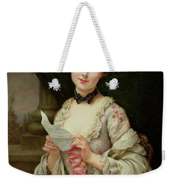 The Love Letter Weekender Tote Bag