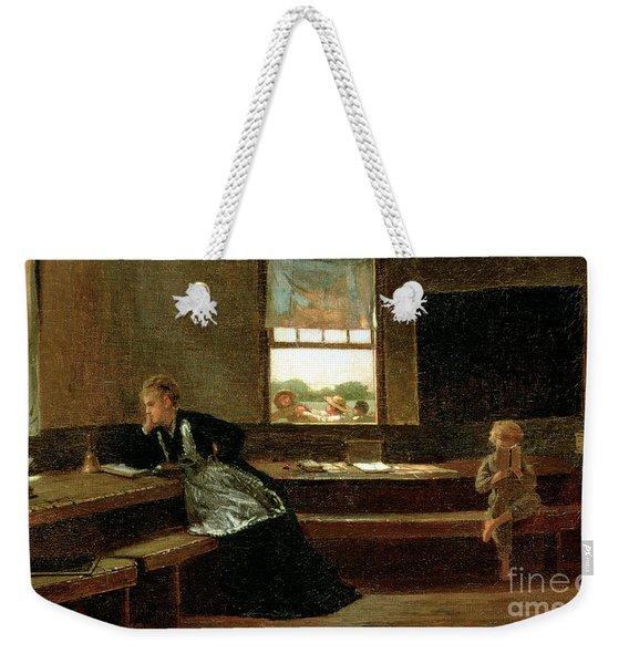The Noon Recess Weekender Tote Bag