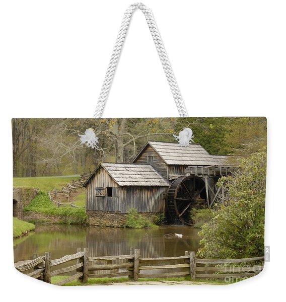The Old Grist Mill Weekender Tote Bag