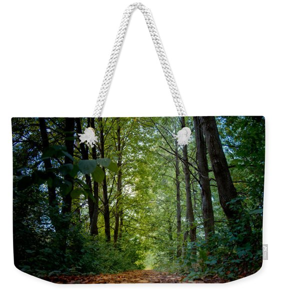 The Pathway In The Forest Weekender Tote Bag