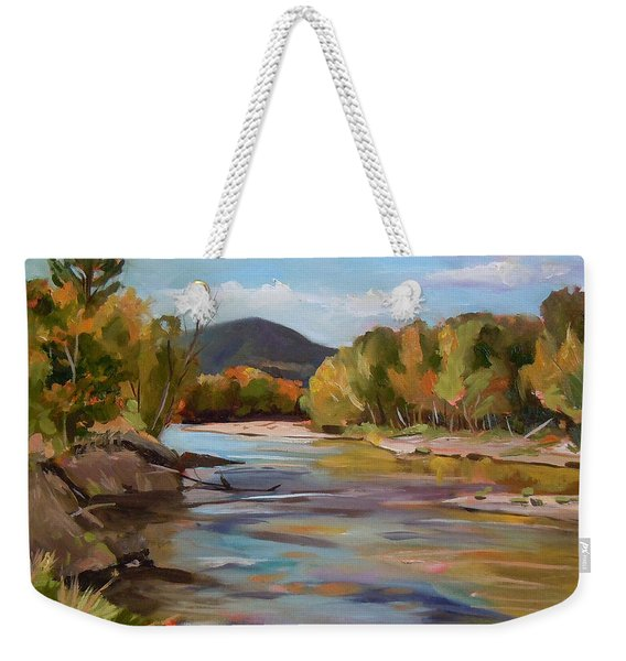 The Pemi In Autumn One Weekender Tote Bag
