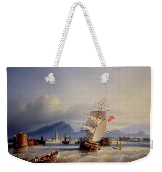 The Port Of Leith Weekender Tote Bag