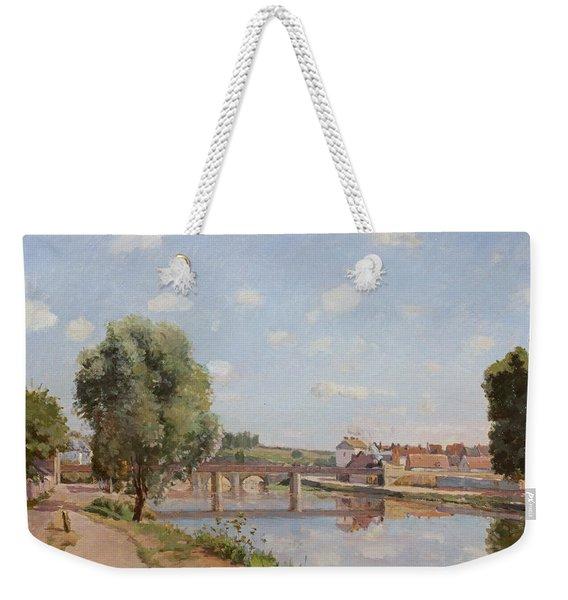 The Railway Bridge Weekender Tote Bag