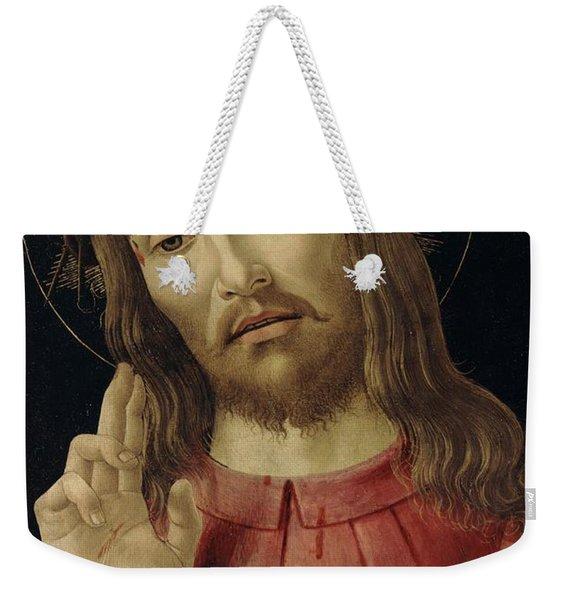 The Resurrected Christ Weekender Tote Bag