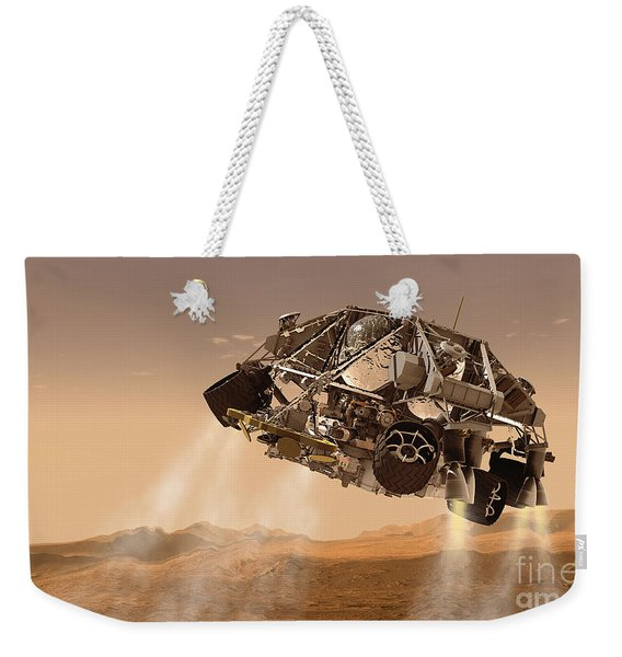 The Rover And Descent Stage For Nasas Weekender Tote Bag