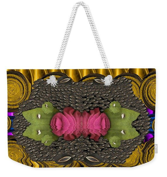 The Sacred Pond Pop Art Weekender Tote Bag
