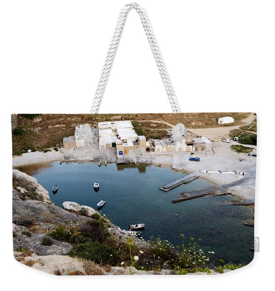 The Shallow Inland Lagoon Weekender Tote Bag