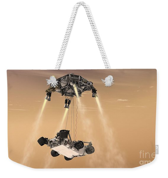 The Sky Crane Maneuver Weekender Tote Bag