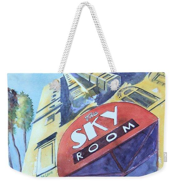 The Sky Room Weekender Tote Bag