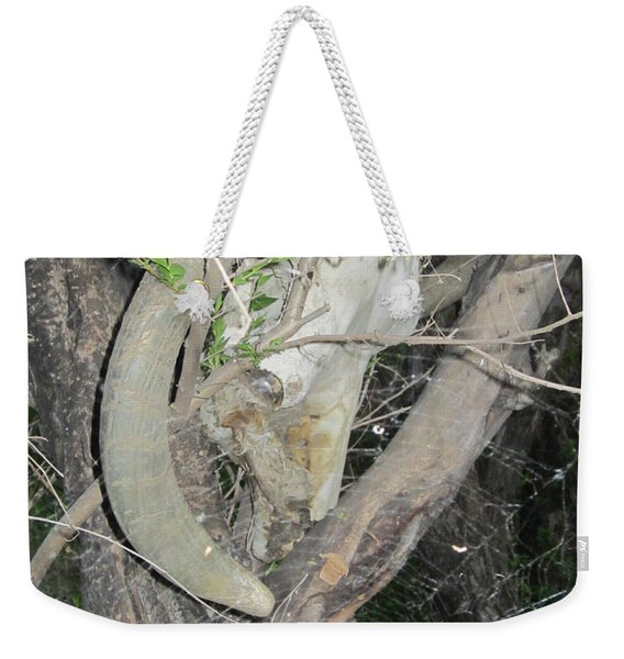 The Spiders Catch Weekender Tote Bag