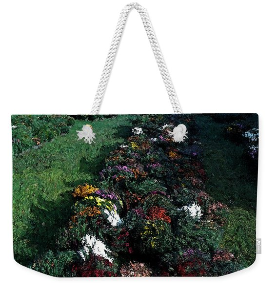 Weekender Tote Bag featuring the photograph The Stand In Autumn by Wayne King