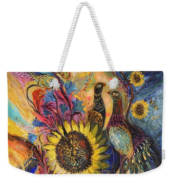 The Sunflower ... Visit Www.elenakotliarker.com To Purchase The Original Weekender Tote Bag