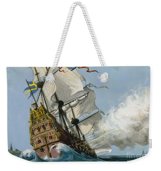 The Swedish Warship Vasa Weekender Tote Bag