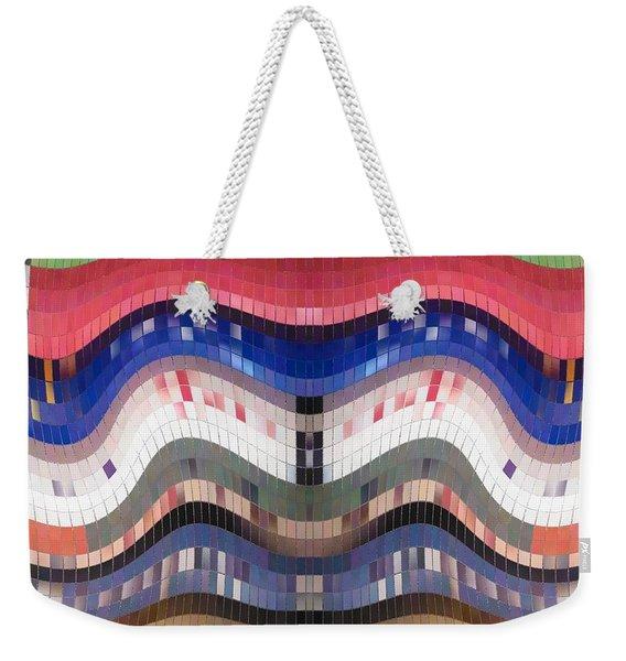 The Tile Smile Weekender Tote Bag