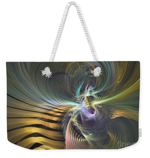 The Vortex - Abstract Art Weekender Tote Bag