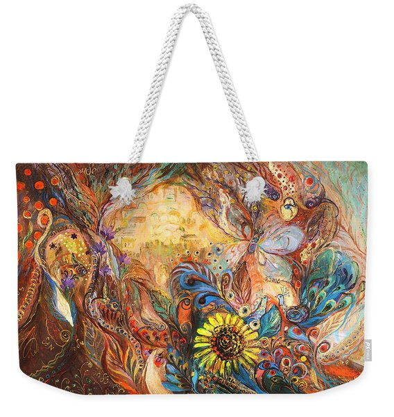 The Walls Of Childhood Weekender Tote Bag