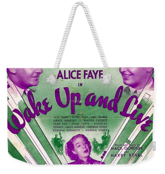 There's A Lull In My Life Weekender Tote Bag