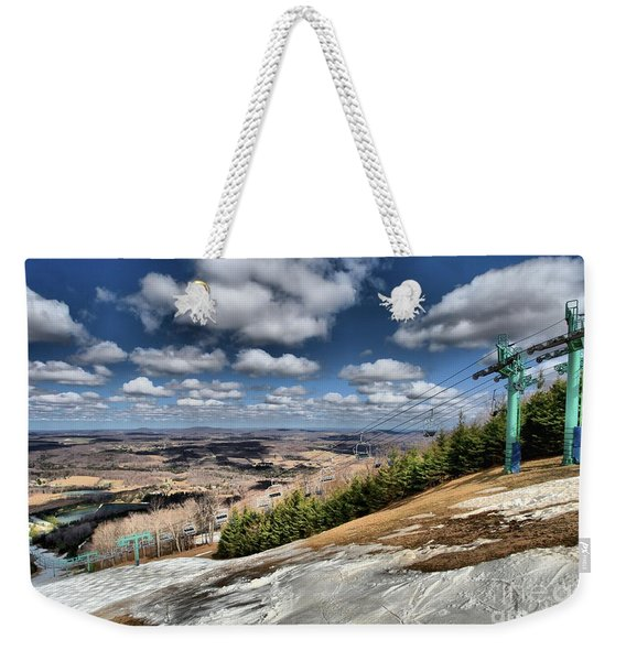 Thin Cover Weekender Tote Bag