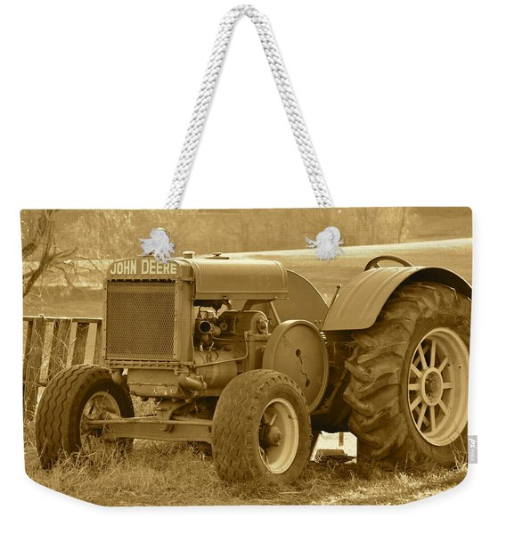 This Old Tractor Weekender Tote Bag