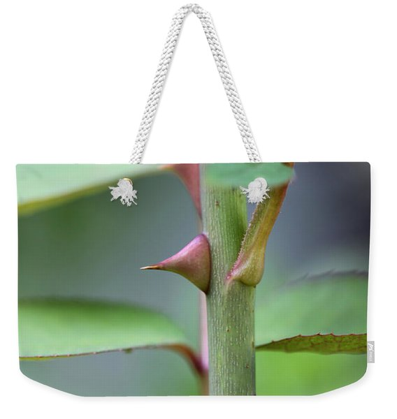Thorny Stem Weekender Tote Bag