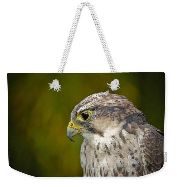 Thoughtful Kestrel Weekender Tote Bag