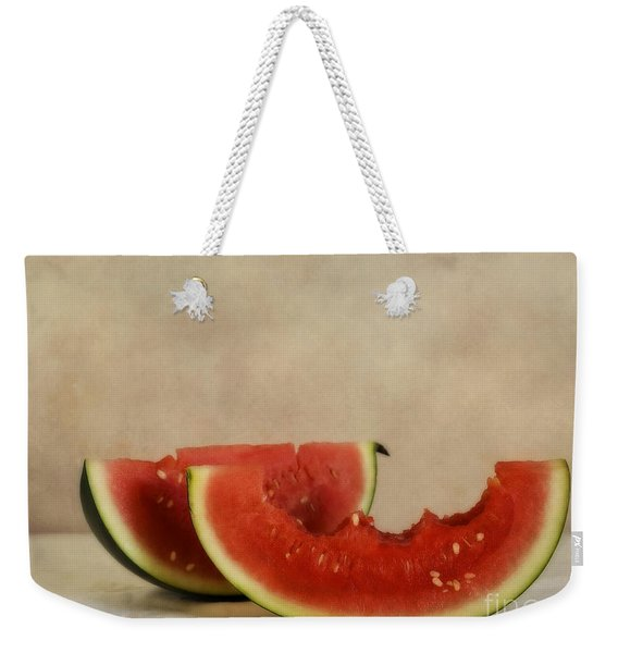 Three Bites Of Summer Weekender Tote Bag