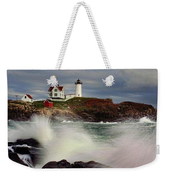 Thundering Tide Weekender Tote Bag