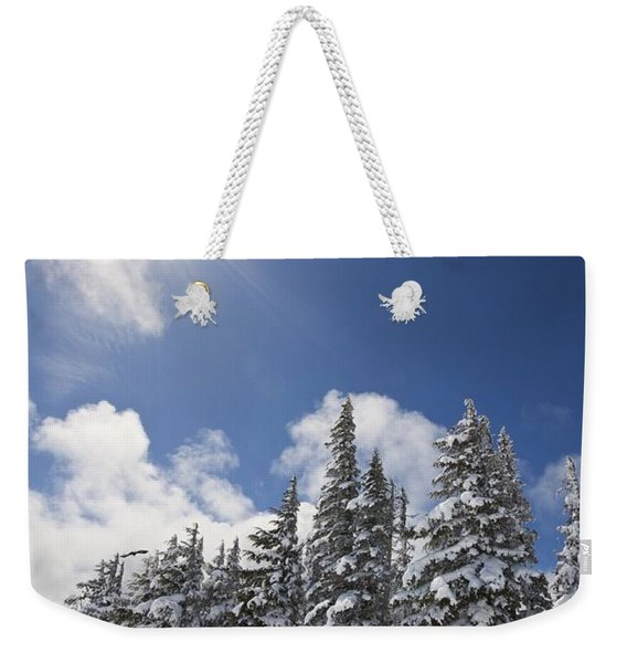 Timberline, Oregon Cascades, United Weekender Tote Bag