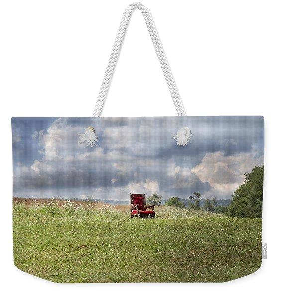 Time Alone Weekender Tote Bag