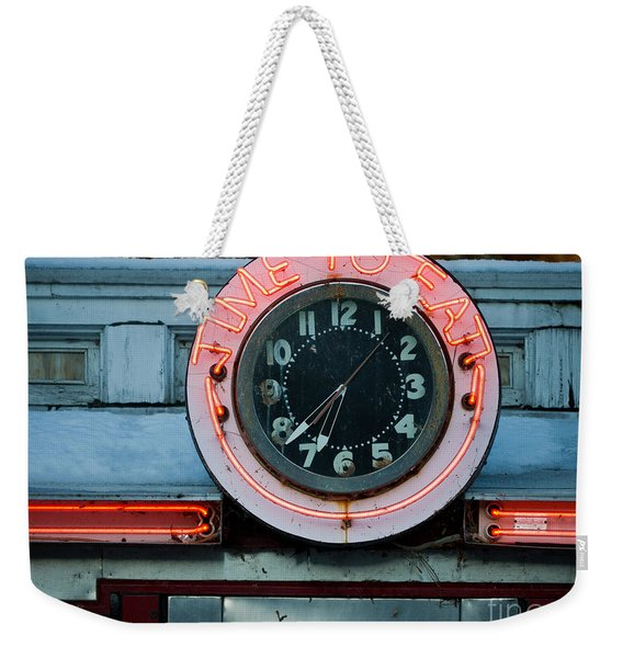 Time To Eat Weekender Tote Bag