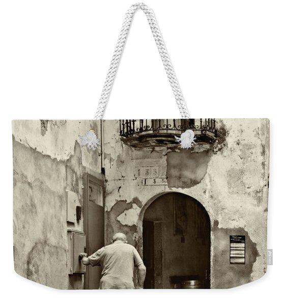 Toward Home Weekender Tote Bag
