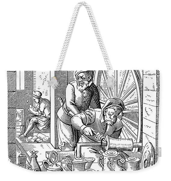 Trades: Pewterer Weekender Tote Bag
