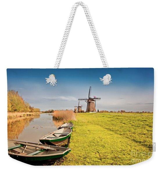 Traditional  Dutch Landscape Weekender Tote Bag
