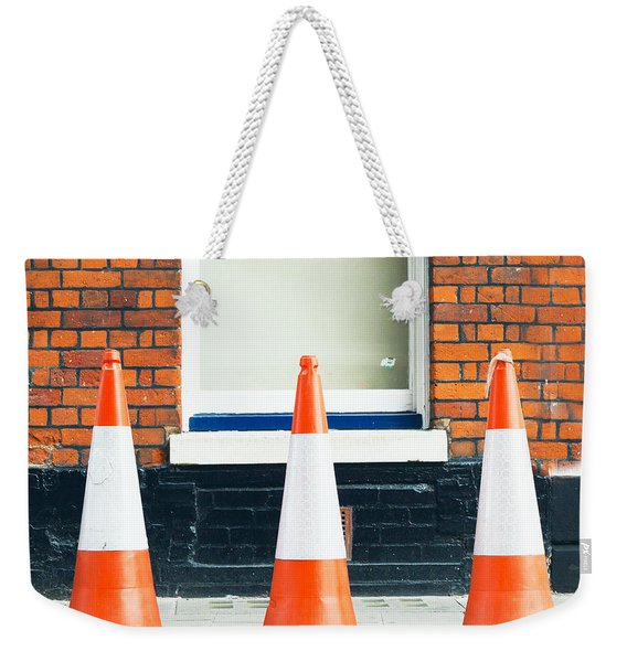 Traffic Cones Weekender Tote Bag