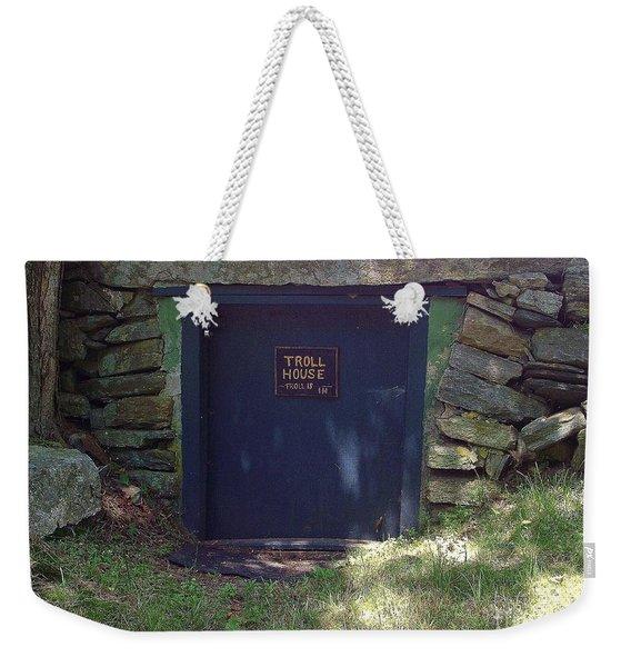Troll House Weekender Tote Bag