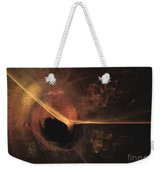 Turning Point - Abstract Art Weekender Tote Bag