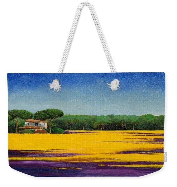 Tuscan Landcape Weekender Tote Bag