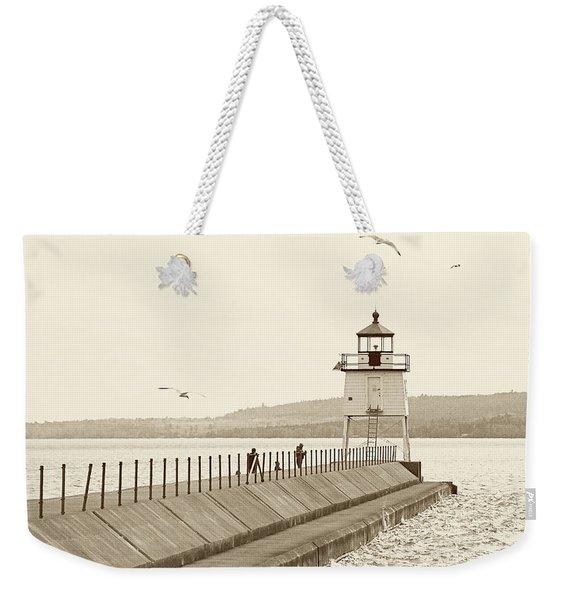 Two Harbors Weekender Tote Bag