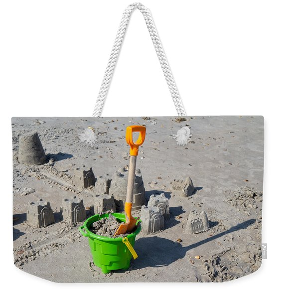 Under Construction Weekender Tote Bag