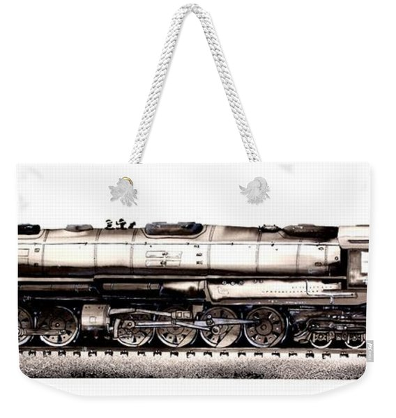 Union Pacific 4-8-8-4 Steam Engine Big Boy 4005 Weekender Tote Bag