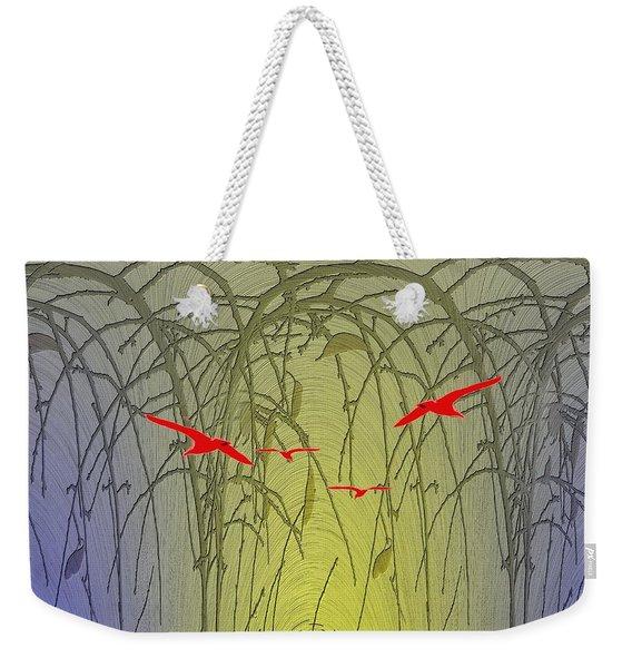 Unto The Technicolor Rainbow Weekender Tote Bag