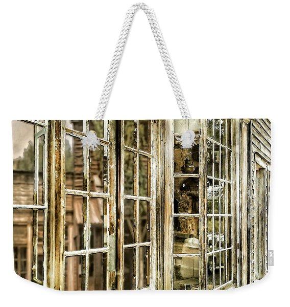 Vc Window Reflection Weekender Tote Bag