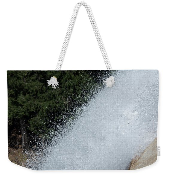Vernal Falls On The Mist Trail At Yosemite Np Weekender Tote Bag