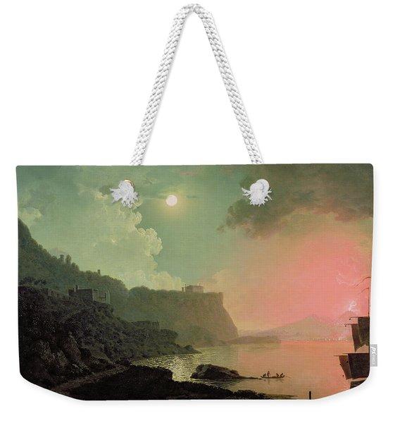 Vesuvius From Posillipo Weekender Tote Bag