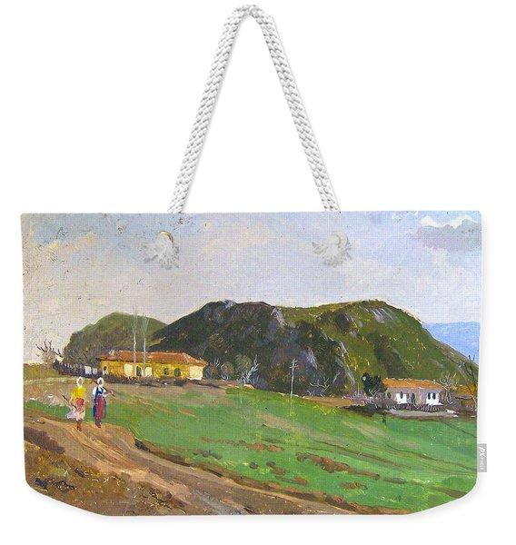 View From Belesh Elbasan Weekender Tote Bag