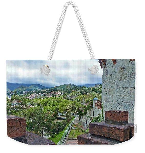 View From The City Walls - Loja - Ecuador Weekender Tote Bag