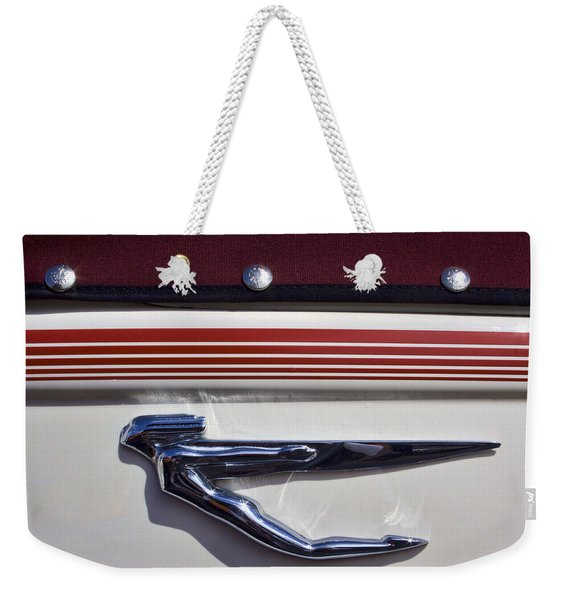 Vintage Auburn Automobile Mascot Weekender Tote Bag
